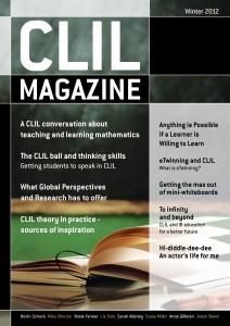 CLIL Magazine Winter 2012 cover small